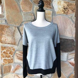 NWOT  Grey & Black Sweater - Size M
